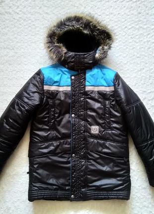 Зимняя куртка lenne р.158