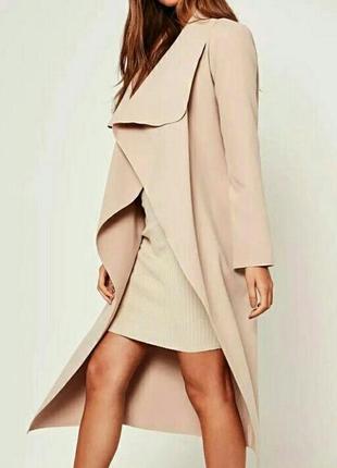 Ультрамодное кашемировое пальто на запах с поясом и карманами!