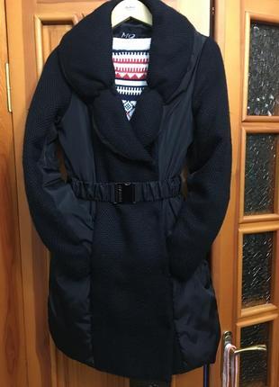 Стильное пальто(пуховик) morgan франция р.м