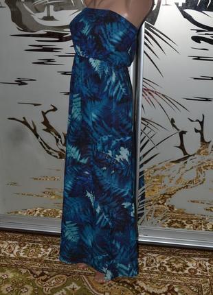 Платье сарафан длинное в пол h&m