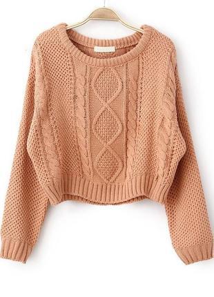 Вязанный свитер джемпер h&m
