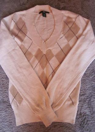 Фирменный свитер h&m размер xs h&m h&m h&m