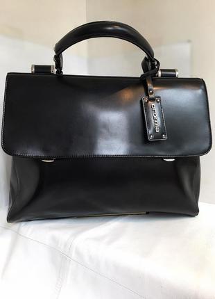 Сумка портфель кожаный добротный cromia, италия.