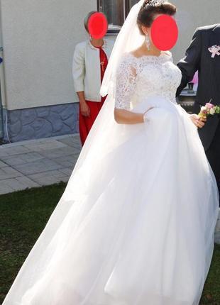 Свадебное платье весільна сукня3