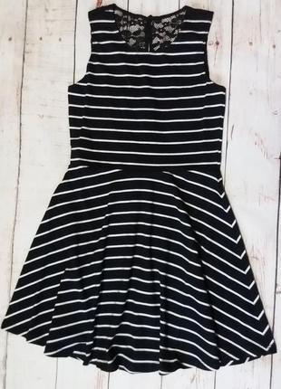 Платье из хлопка с кружевом от c&a, р.134-140.2