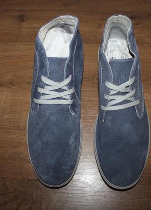 Итальянские кожаные ботинки imac, 46 размер