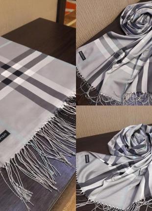 🖒шикарнейший шарф шаль палантин шёлк качество люкс