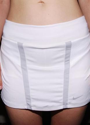Белая юбка шорты nike