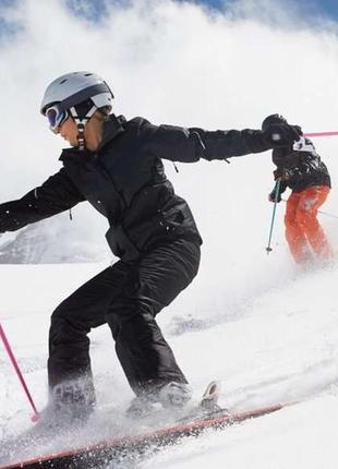 Лыжная мембранная термо куртка женская на тинсулейте crivit sports thinsulate