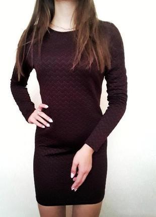 Короткое платье на длинный рукав new look❤