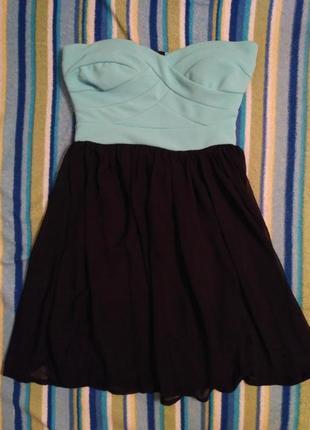 Платье коктейльное нарядное tally weijl