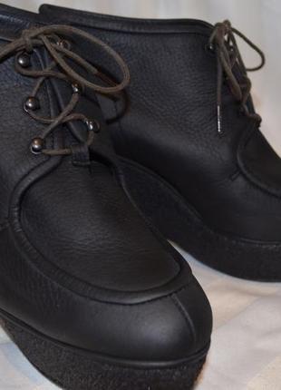 Ботинки ботильоны кожаные 38 размер италия navyfoot