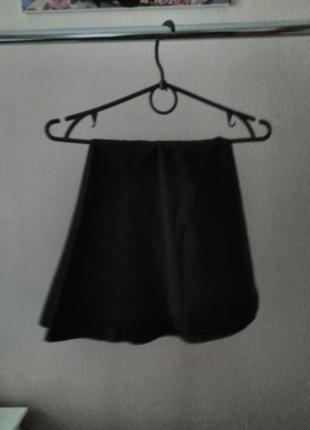 Черная,базовая юбка h&m.
