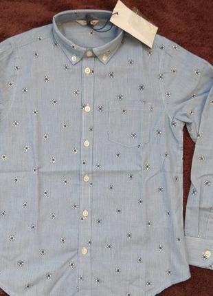 Рубашка на 8-12 лет 34-42р street gung италия