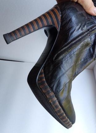 Кожаные сапожки mallanee европейская зима4
