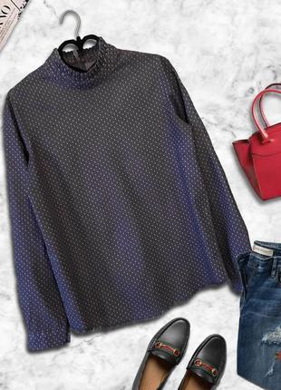 Блузка в горох / блуза в горошек