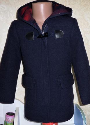 Пальто zara girls 5 лет рост 110 см,