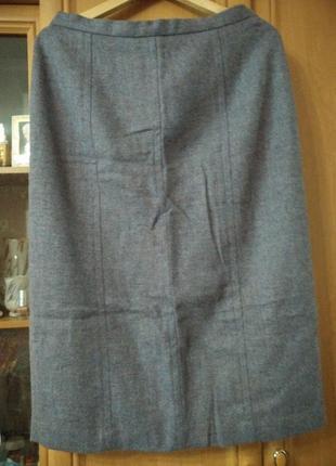 Теплая,шерстяная юбка 14 размер