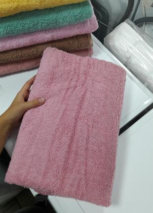Бюджетное плотное банное полотенце из хлопка турция 140×70см