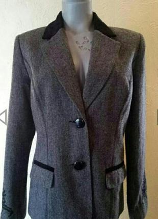 Sale! супер стильный винтажный жакет,блейзер together 46-48 р2