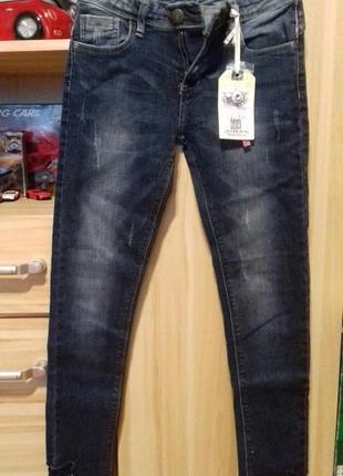 Білі джинси з плотного деніму від англійського бренду fushion union ... 5b3028bfa95c2