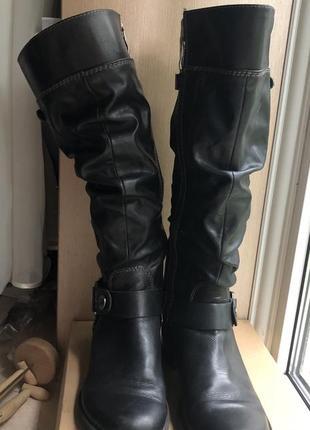 Осінні чоботи marco tozzi
