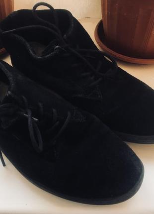 Ботиночки деми с натуральной замши
