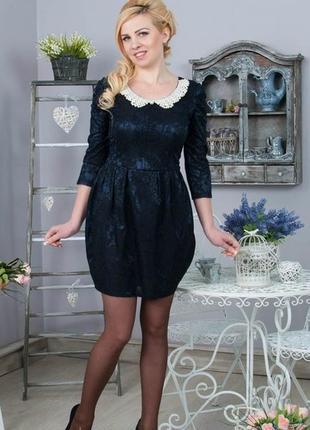 Платье в шикарном стиле ретро р: 48-50
