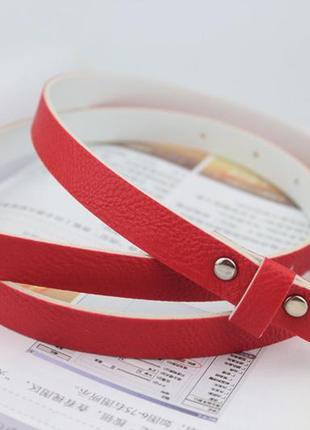 9-2 женский пояс skinny belt