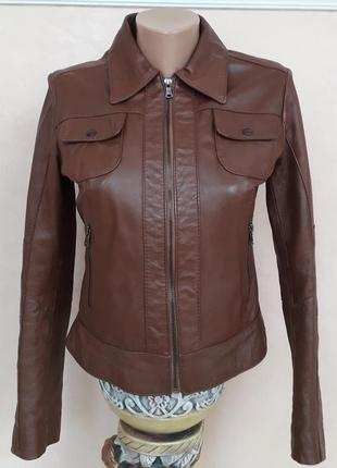 Шкіряна курточка sasch collezioni