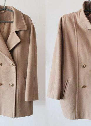 Распродажа!шерстяное пальто,пальто осенее