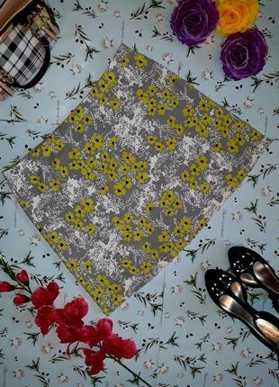 Юбка с флористическим принтом tu, размер 50-52