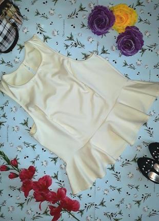 Оригинальная блуза с баской dorothy perkins, размер 50 - 52