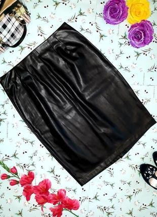 Модная кожаная юбка ravi famous, размер m-l, новая