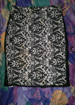 Шикарная юбка, от  miss selfridge