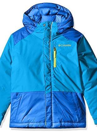 Зимние куртки columbia, 240г утеплителя, на 6-7 лет.