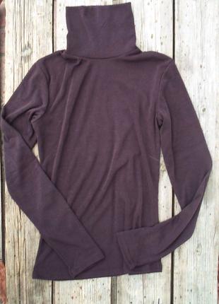 Базовый гольф# водолазка шоколад#свитер с горлом на флисе и без с42по52р 9цветов