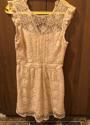 Платье hollister, р м