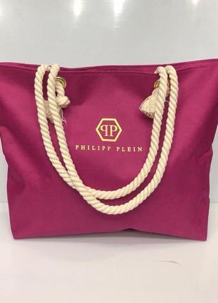 Пляжная сумка с канатными ручками. цвета в асортименте