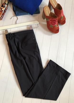 Укорочённые брюки, плотная ткань