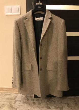 Пиджак пальто шерсть кашемир
