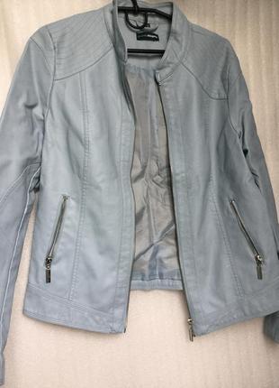 Куртка charles  voegele , кожзам с вискозы