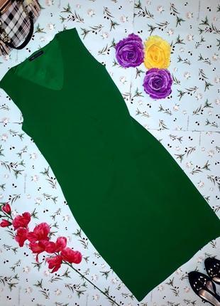 Фирменное платье зеленого цвета marks&spencer, размер m-l, новое, длина миди
