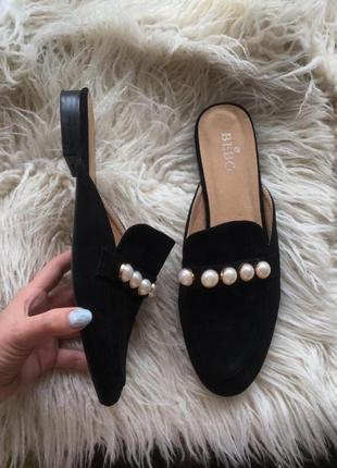 Новые трендовые  мюли туфли шлепанцы