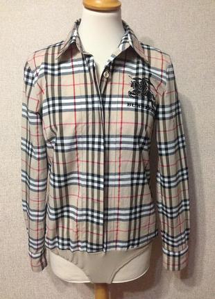 Рубашка-комбидресс жен. burberry,р.м