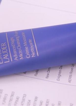 Estee lauder advanced night micro cleansing foam пенка для умывания, 50 ml