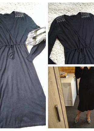 Шикарное платье, вискоза, caroll, p.8-12