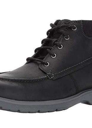 Ботинки кожаные clarks р.44.5