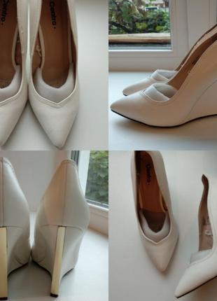 Шикарные свадебные туфли р.39
