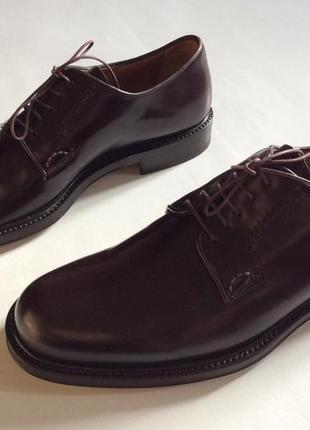 Мужские новые туфли итальянского бренда  santoni оригинал р 43-44